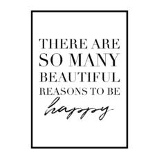 """Постер на стену """"There so many reasons"""""""