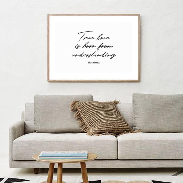 """Постер на стену """"True love"""""""