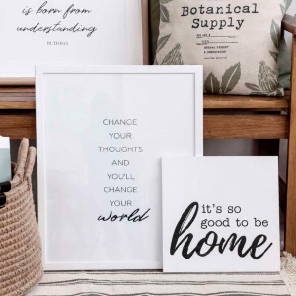 набор домашних постеров скандинавский стиль