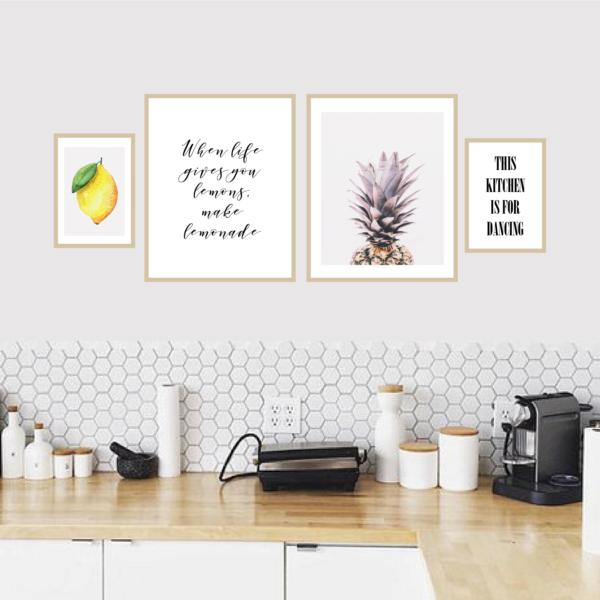 Галерея постеров When life gives you lemons