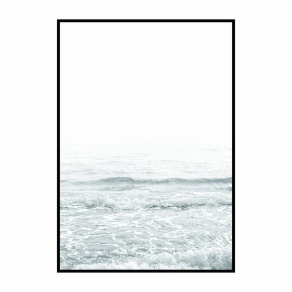 Постер на стену Белый океан