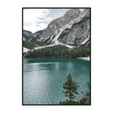 Постер на стену Вид на горное озеро