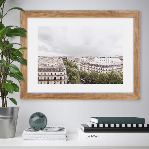 "Постер на стену ""Вид на Эйфелеву башню"""