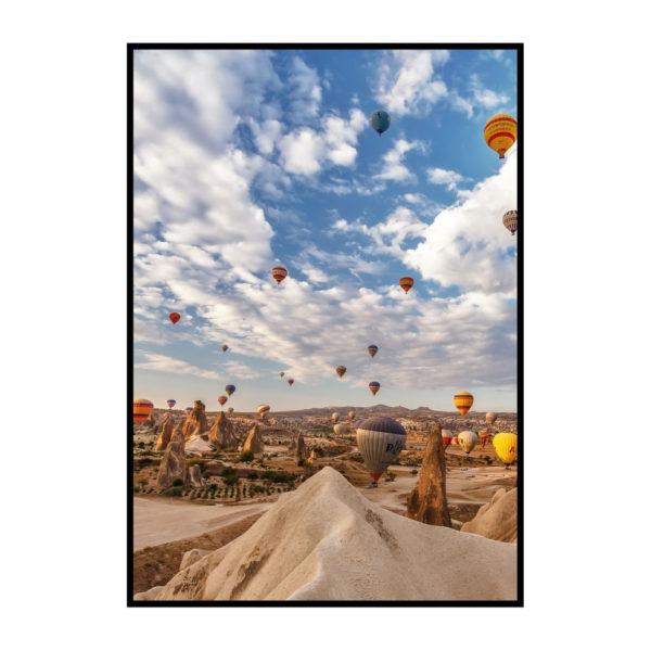 """Постер на стену """"Воздушные шары"""""""