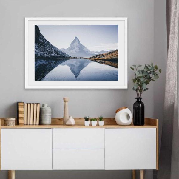 Постер на стену Гора Маттерхорн скандинавский стиль