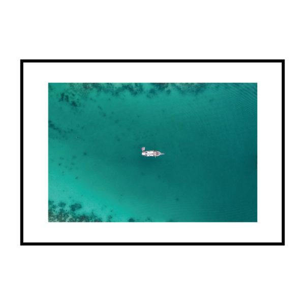 Постер на стену Зеленое море