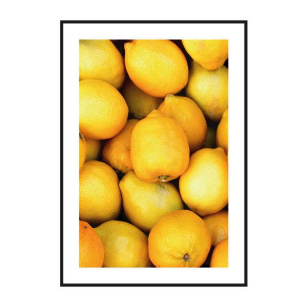 """Постер на стену """"Лимоны"""""""