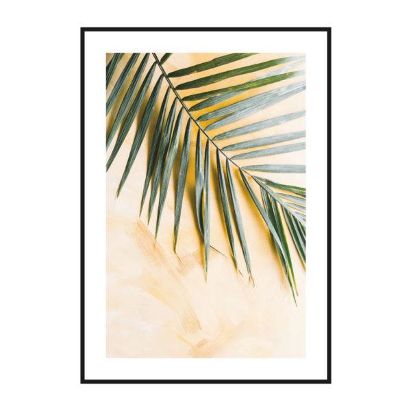 постер пальма скандинавский стиль