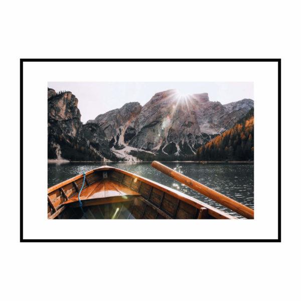Постер на стену Лодка