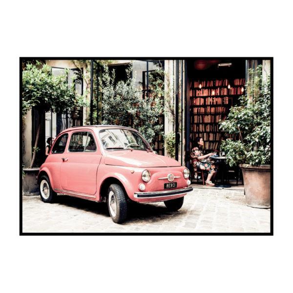 "Постер на стену ""Машина красная"""