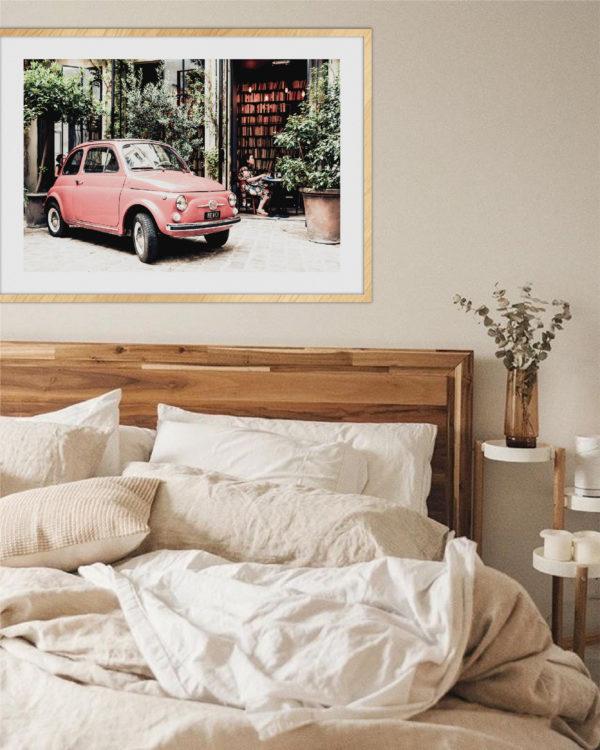 Постер на стену Машина красная
