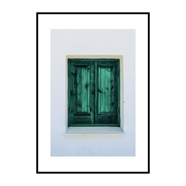 Постер на стену Окно