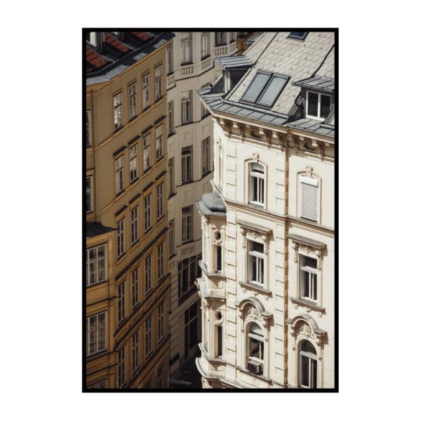 """Постер на стену """"Дома Парижа"""""""