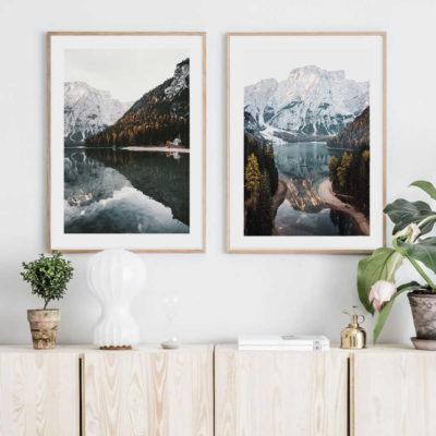 Природная пара постеров 4