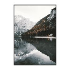 Постер на стену Вид на озеро Брайес 2