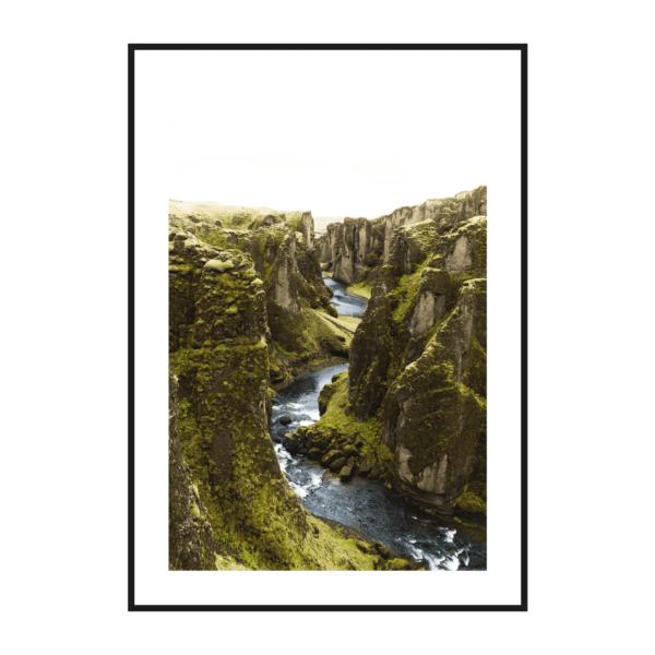 Постер на стену Горная река 2