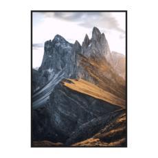 Постер на стену Горный рассвет 2