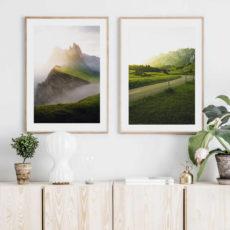 Природная пара постеров 3