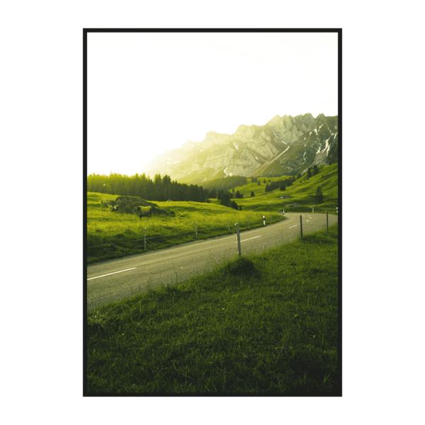 Постер на стену Дорога к солнцу