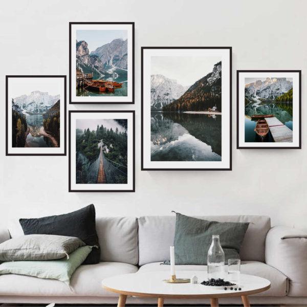 5 постеров природа скандинавии