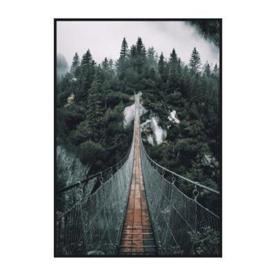 Постер на стену Мост через каньон