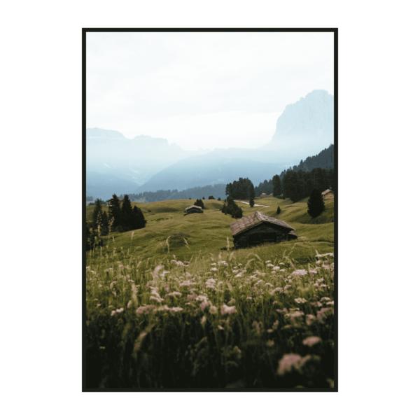 Постер на стену Цветочные луга