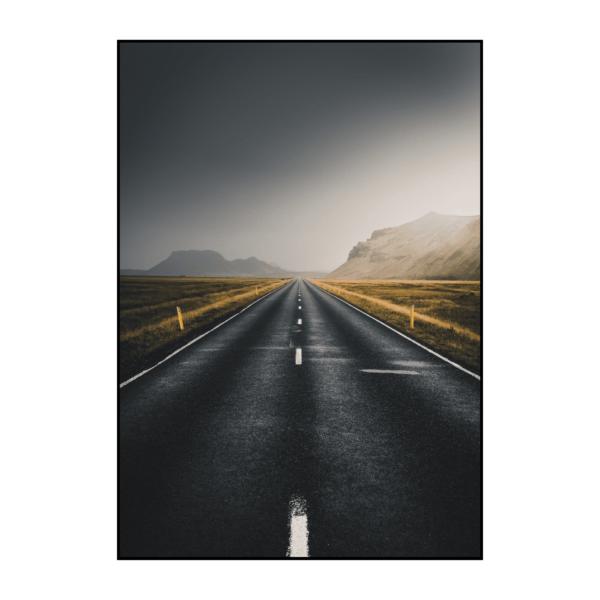 Постер на стену Дорога новая