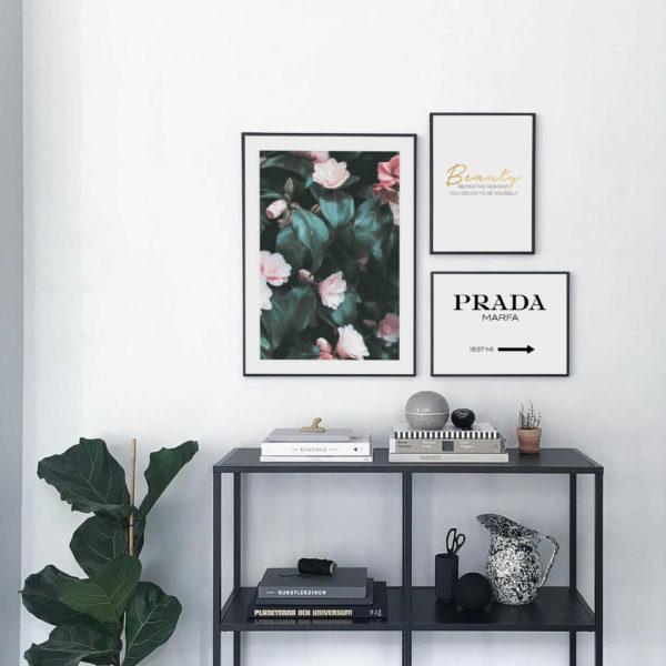 три красивых постера в офис