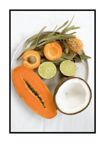 Постер на стену Тарелка с фруктами