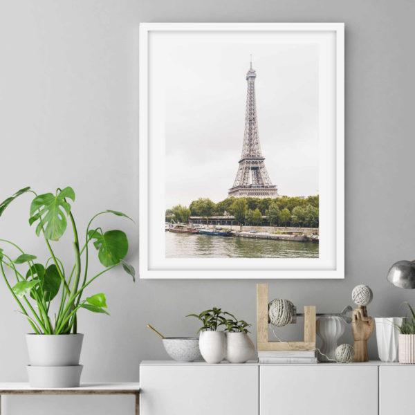 Постер на стену Эйфелева башня