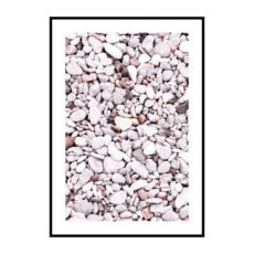 Постер на стену Розовые камни