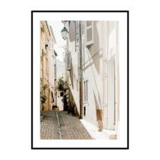 Постер на стену Город светлый