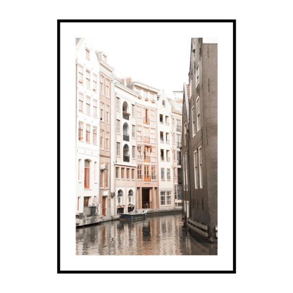 Постер на стену Город светлый 3
