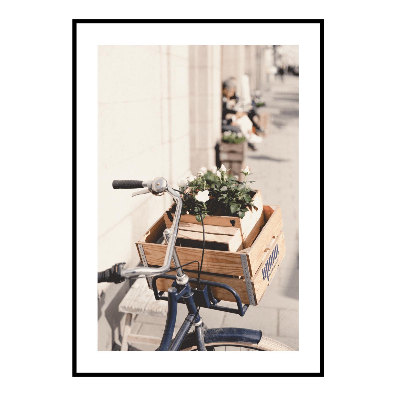 Постер на стену Велосипед