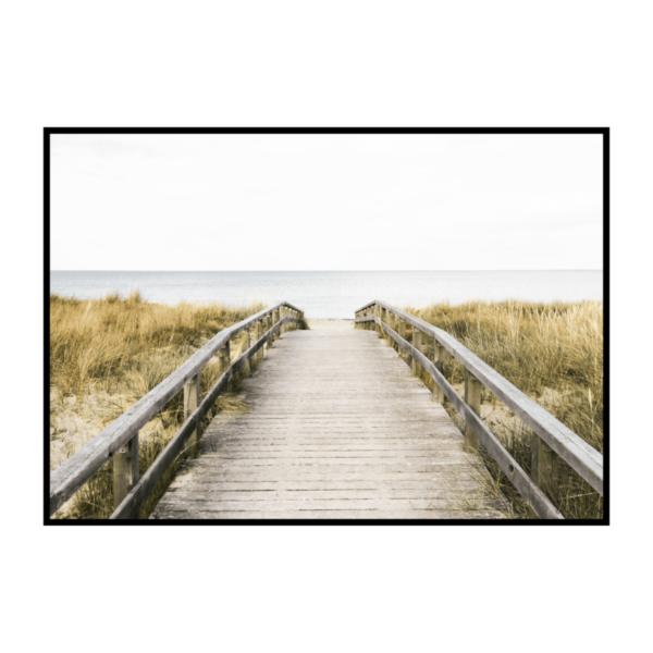 Постер на стену Мост к пляжу