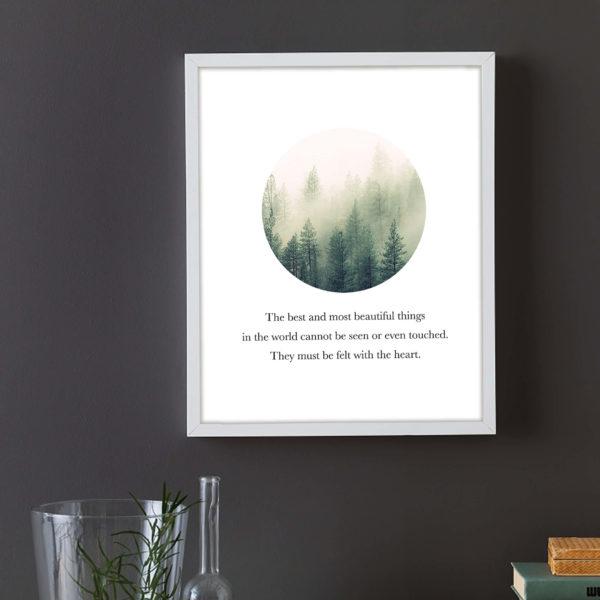Постер на стену Лес