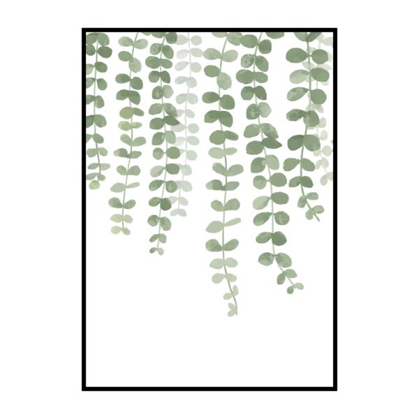 Постер на стену Свисающие листочки