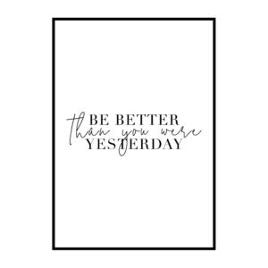Постер на стену Be better