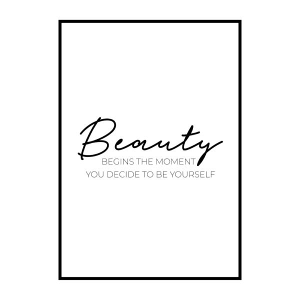 Постер на стену Beauty