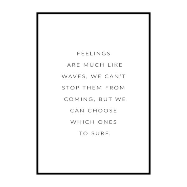 Постер на стену Feelings