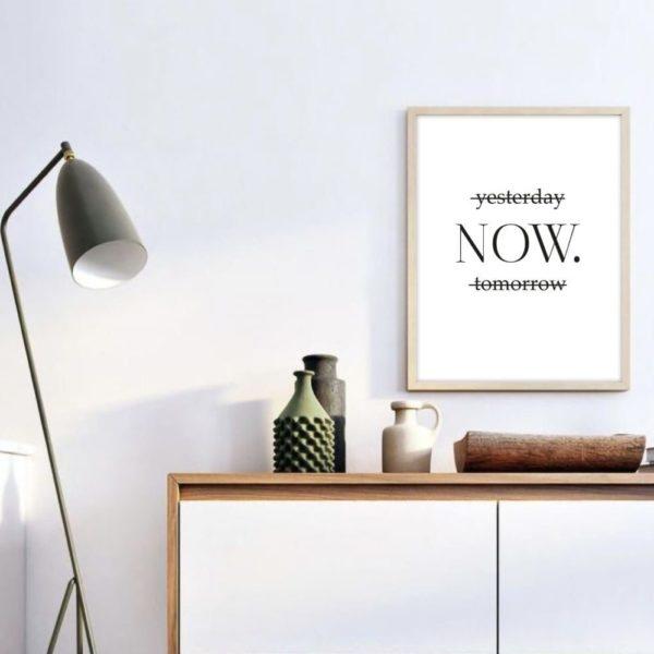 Постер на стену Now