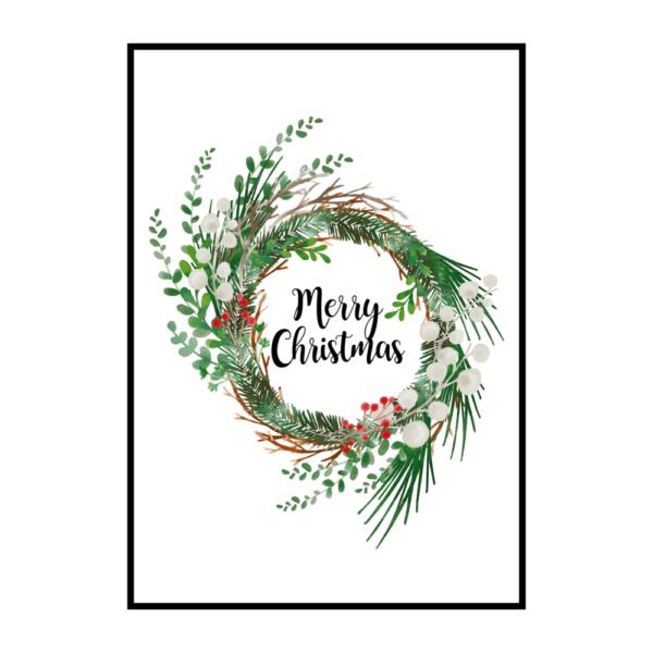 Постер на стену Merry Christmas