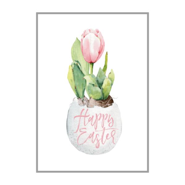 Постер на стену Пасхальный цветок