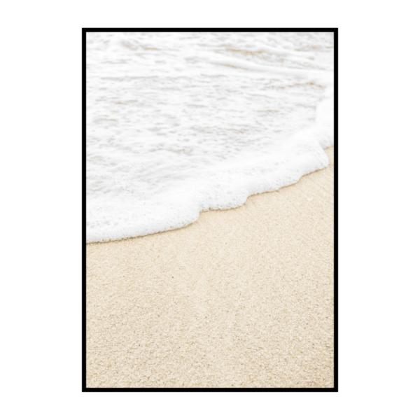 Постер на стену Песок с волной