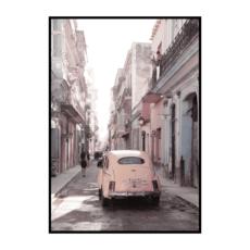 Постер на стену Машина в пудовых тонах