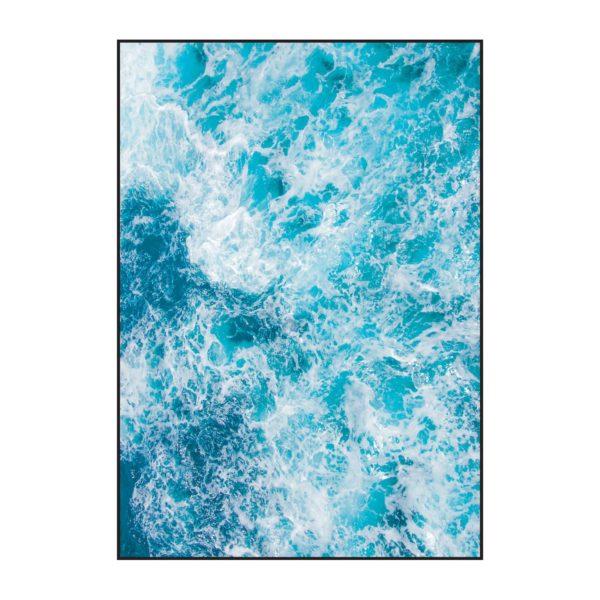 Постер на стену морская пена