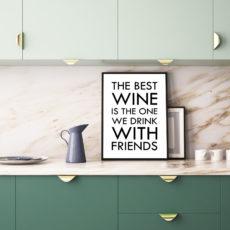 Постер на стену The best wine