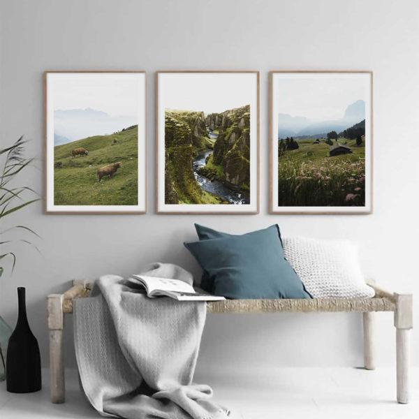 Природное трио постеров