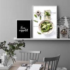 красивые стильные постеры на кухню