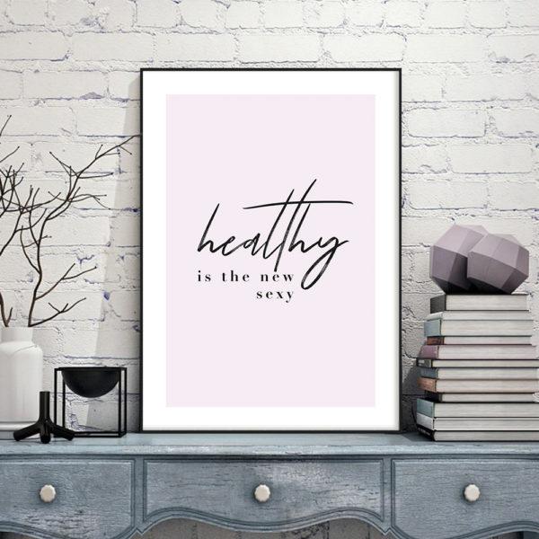 Постер на стену Healthy